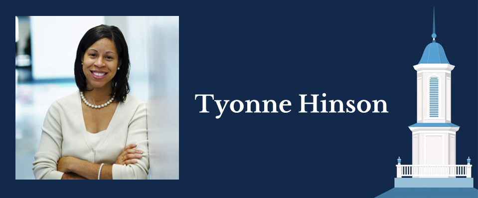 Portrait of Health Policy and Management alumna Tyonne Hinson