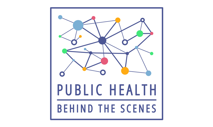 The Public Health Behind the Scenes podcast logo