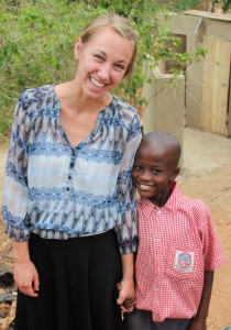 Lacey English, health behavior master's student, received a Fulbright fellowship to address children's malnutrition in Sierra Leone next year.