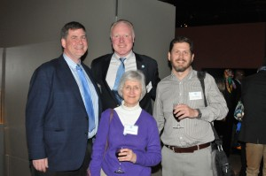 Bob Vollinger, Kevin Harlen, Brenda Edwards and Kelly Keisling enjoyed each other's company at the D.C. event.