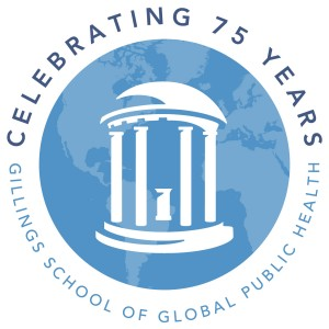 UNCGillings_75thAnniv_Logo