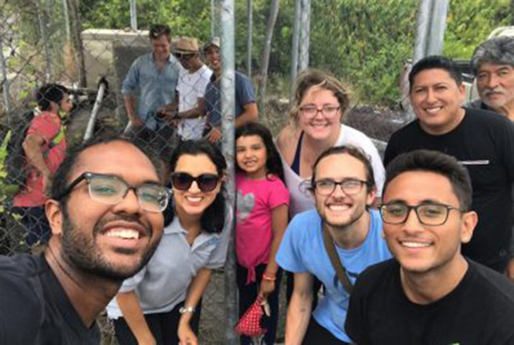 GILLINGS SCHOOL STUDENTS AND FACULTY JOINED FORCES WITH COLLEAGUES FROM UNIVERSIDAD SAN FRANCISCO DE QUITO TO CONDUCT A STUDY ON WATER AND FOOD INSECURITY IN THE GALÁPAGOS ISLANDS OF ECUADOR.