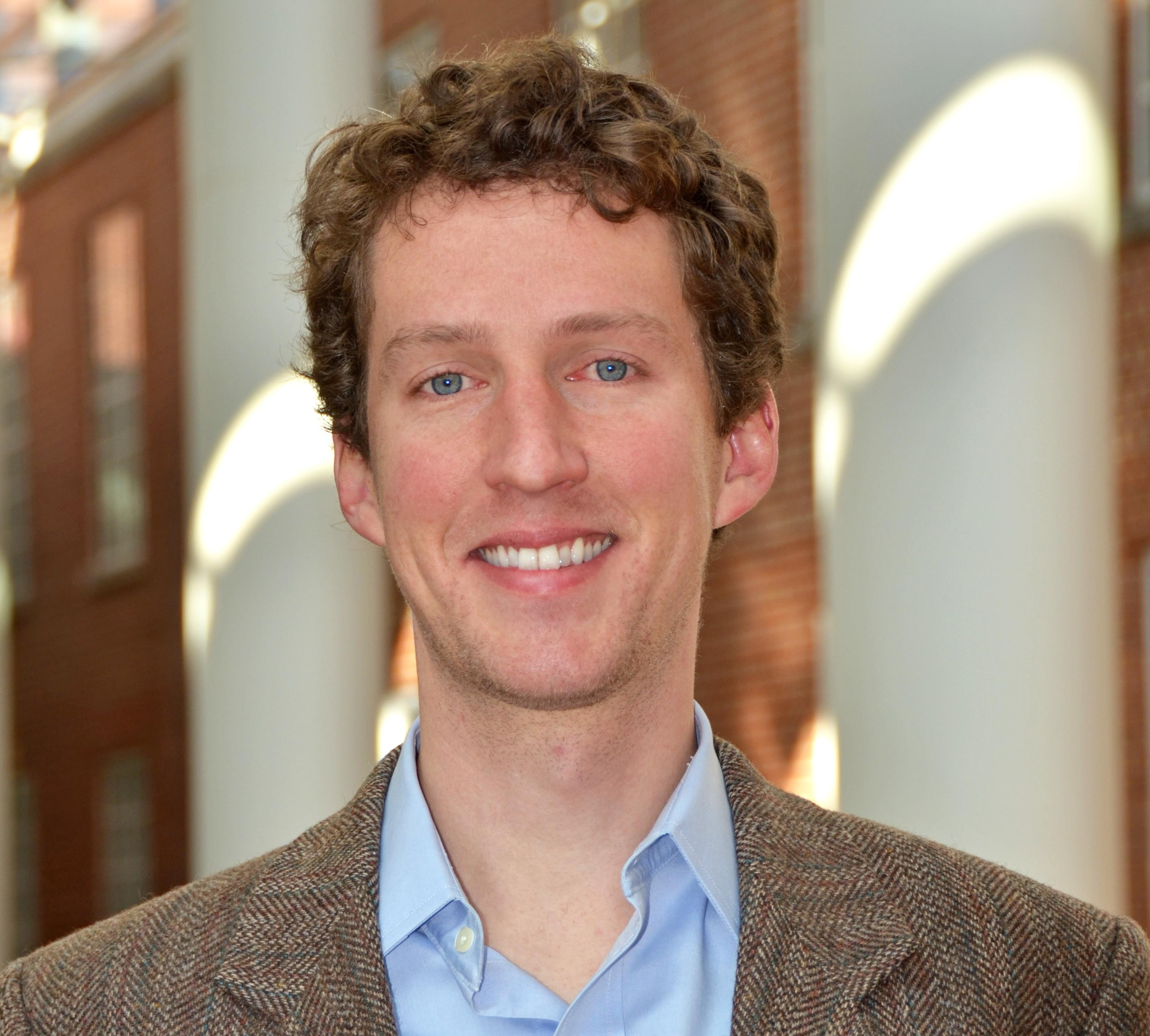 Alan Kinlaw, doctoral student