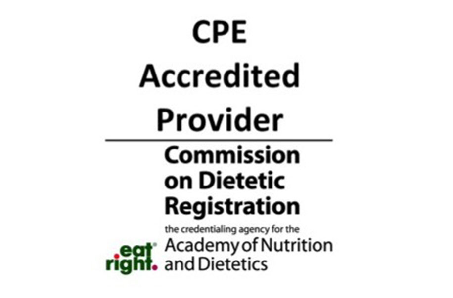 CPE Accredited Provide Commission on Dietetic Registration visual identity