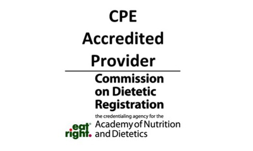 CPE Accredited Provider from the Commission on Dietetic Registration Logo