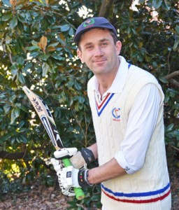 Wake Harper, a native New Zealander, plays cricket in a local league.