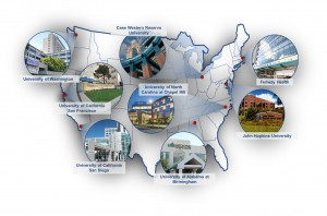 The eight CFAR sites across the nation. Photo courtesy of CNICS