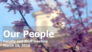 DO_FS - Faculty and Staff Mtg-16mar16_PEOPLE UPDATE-2016-02-25 1