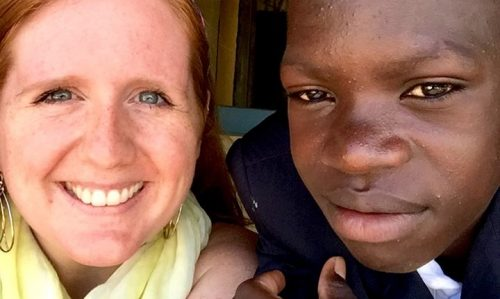 Bailey Herrington completed a practicum in Haiti in summer 2016.