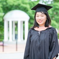 Jin Yan, a 2016 MSEE graduate, is working on China's air quality problems.