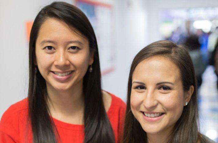 Elizabeth Chen and Christina Leos
