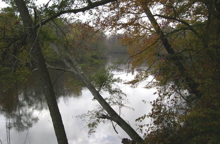 The Roanoke Basin covers nearly 10,000 square miles.