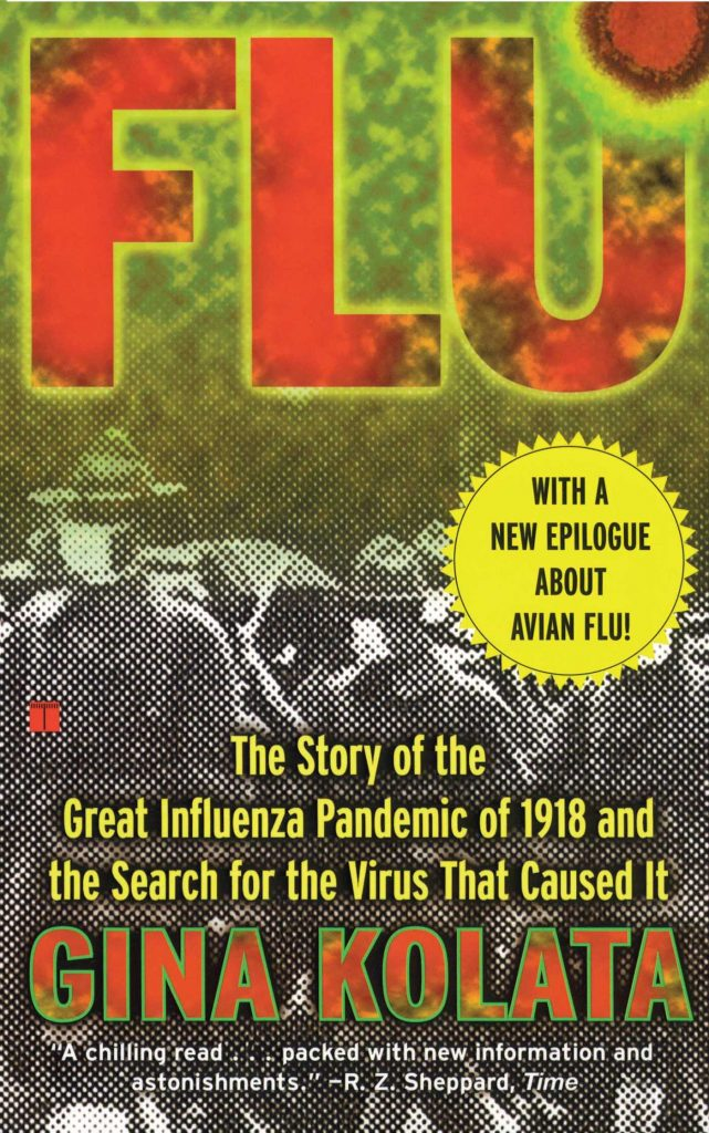 Cover of Flu: The Story of the Great Influenza Pandemic of 1918 and the Search for the Virus that Caused It