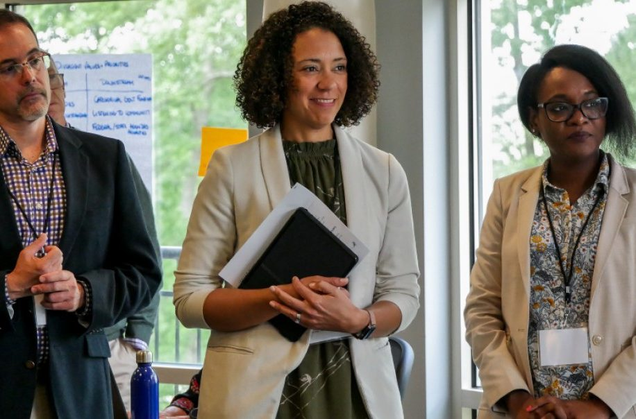 trainees listen during a 2019 ELPH convening