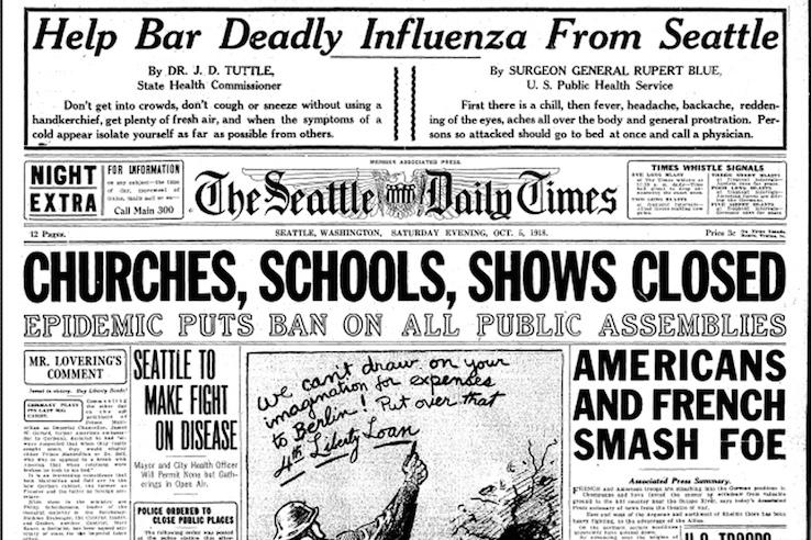 Risultato immagini per influenza 1918