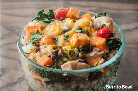 Good Bowls, such as this one, contain tasty, locally sourced ingredients.