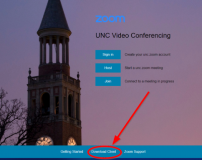 Zoom Getting Started • UNC Gillings School of Global Public