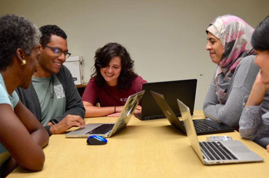 A group of students tackle flu issues.