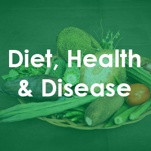 Text reads Diet, Health and Disease