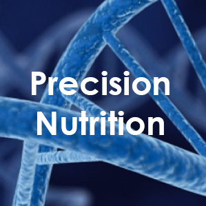 Text reads: Precision Nutrition