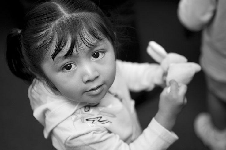 young Hispanic child
