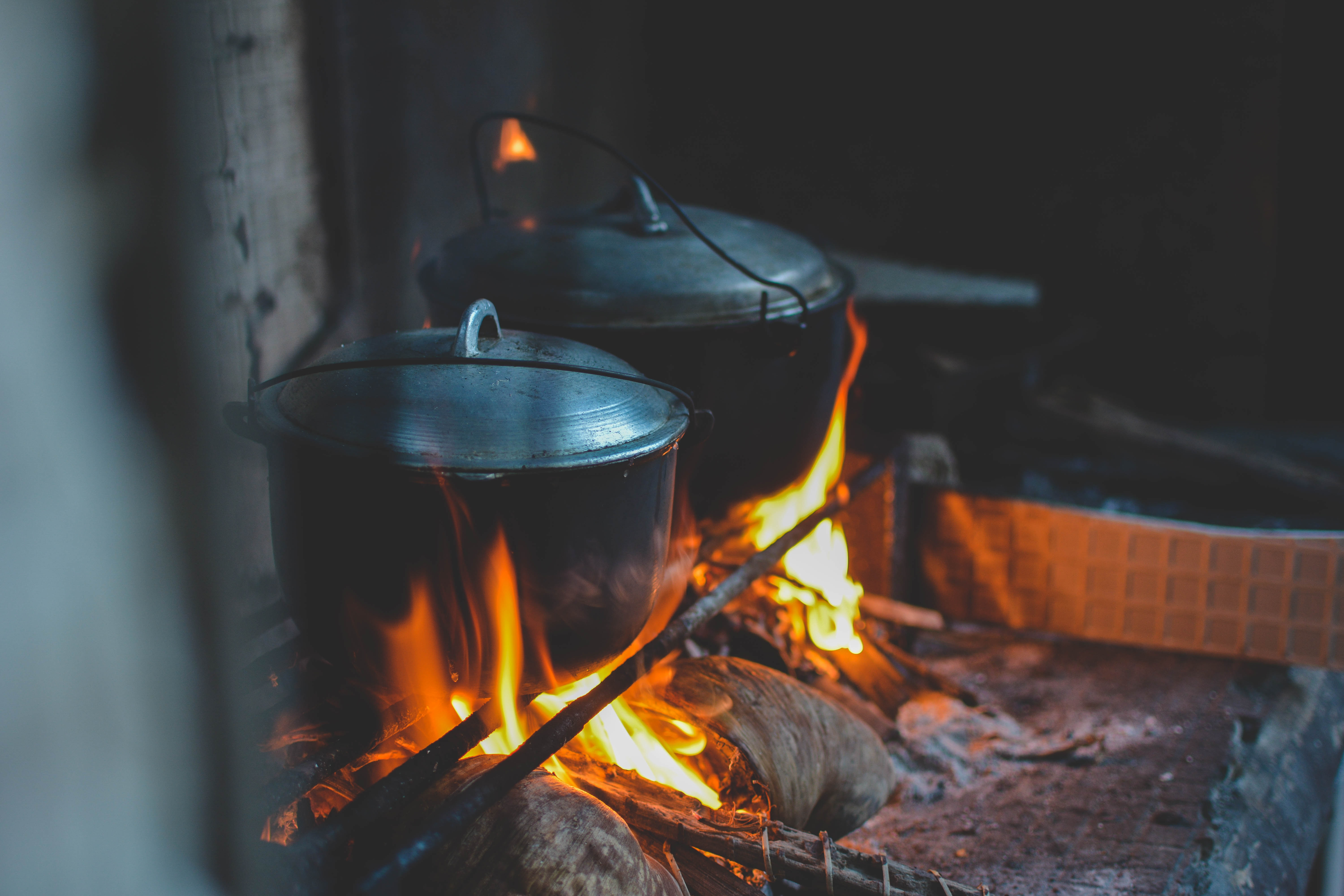 Wood fires are common in many low- and middle-income kitchens.