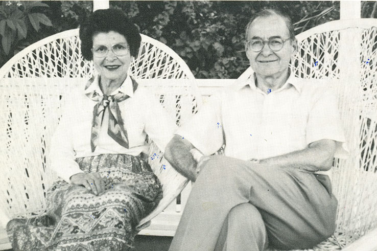 Charles and Shirley Weiss (St Thomas, 1993)