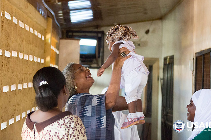 Maternity clinic in Ghana. Photo by USAID.