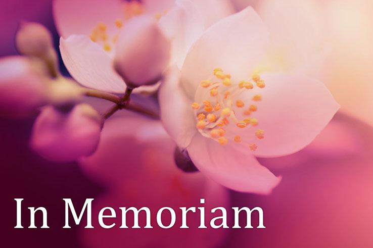 flowers in memory
