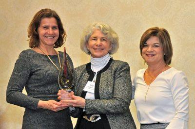 Sally Herndon (center)