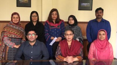The Pakistan Health Services Academy (HSA) Team