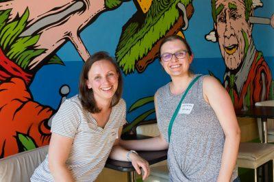 Photo: Health behavior alumni socializing