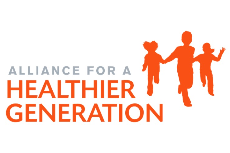 This is the logo for the Alliance for a Healthier Generation.