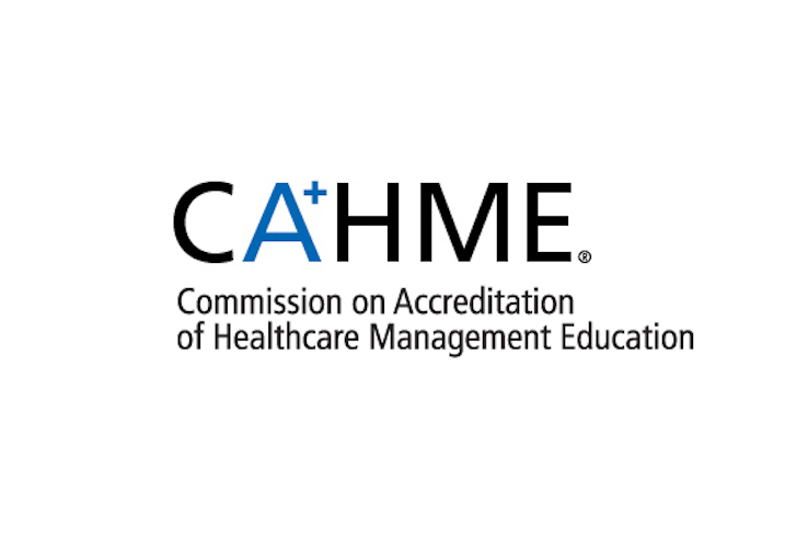 This is the CAHME logo.