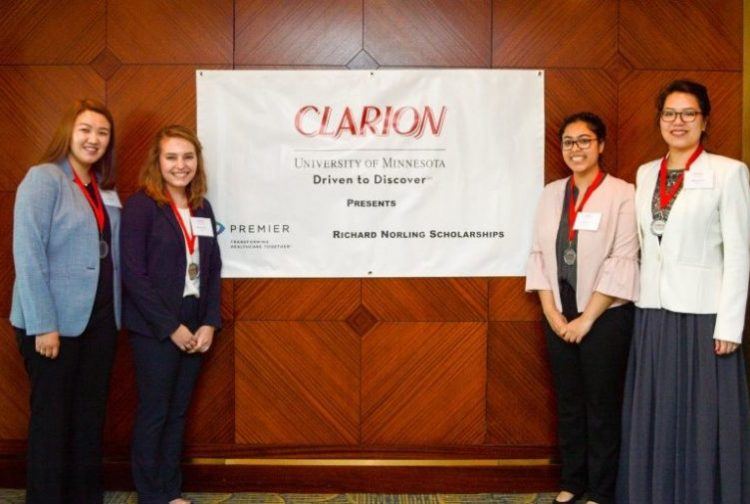UNC student team wins second place in CLARION case competition.