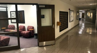 The Department of Healthy Policy and Management is located on the first floor of McGavran-Greenberg Hall.