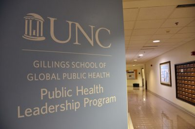 The PHLP offices are located on the fourth floor of McGavran-Greenberg Hall.