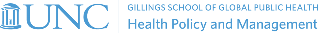 Department of Health Policy and Management logo