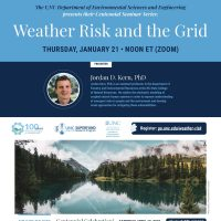 Flyer for Jordan Kern's seminar