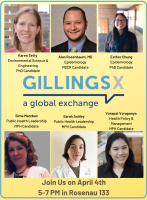 2019 GillingsX presenters.