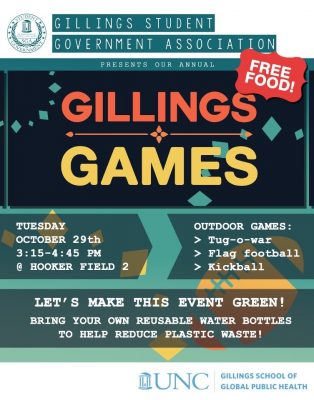 Gillings Games Flyer