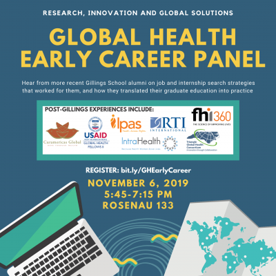 Flyer for Early Career Panel