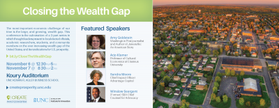 Closing the Wealth Gap Flyer