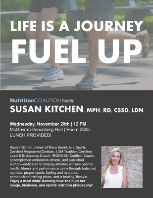 Flyer for Lecture from Susan Kitchen