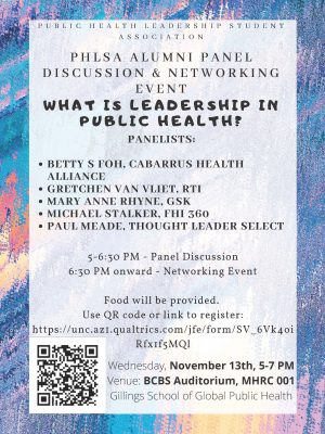 PHLSA Networking Panel Flyer