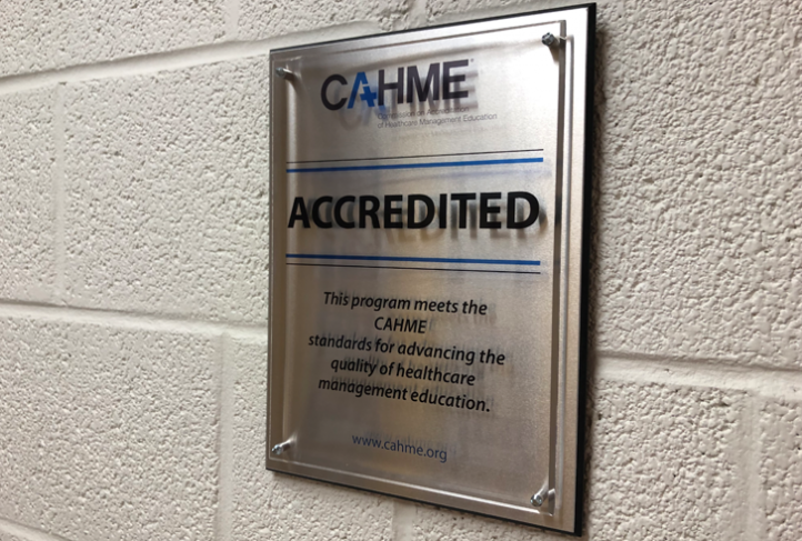 The Department of Health Policy and Management is proud to be CAHME accredited.