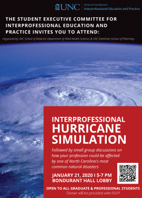 Hurricane Simulation Flyer