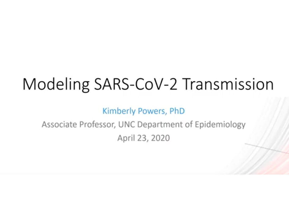 Research Webinar: developing COVID-19 models on a policy timeline