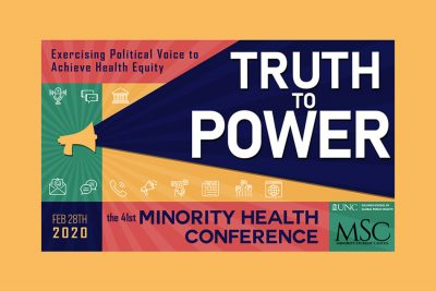 2020 minority health conference graphic