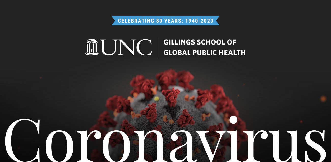 The Gillings School responds to coronavirus.